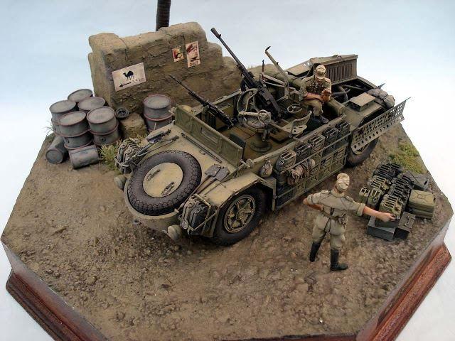 Camionetta AS 42 Sahariana By Modeler Takashi Yamane 1:35 Scale