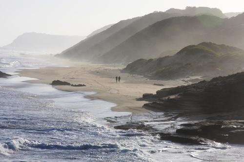 Garden Route Coastline, near Sedgefield, Western Cape