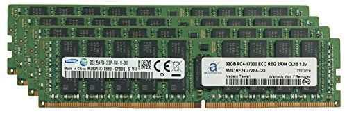 Buy Samsung Original 128GB (4x32GB) Server Memory Upgrade for Cisco UCS B200 M4 DDR4 2133MHz PC4-17000 ECC Registered Chip 2Rx4 CL15 1.2V DRAM Adamanta NEW for 1199.96 USD | Reusell