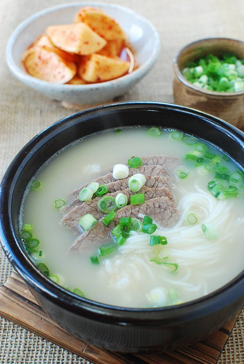 Today, I'm going to demystify Seolleongtang (설렁탕) to convince you to make this restaurant favorite at home. Seolleongtang is a milky beef bone soup that's made by boiling down beef leg bones for several hours until the broth becomes rich and creamy white. This broth is a staple in Korean households, especially during cold winter …