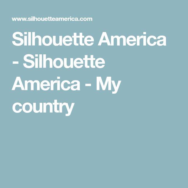 Silhouette America - Silhouette America - My country