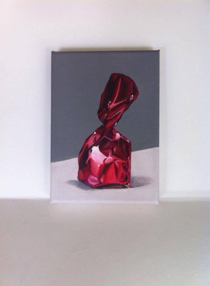 Acryl on canvas 15/18 cm For Sale