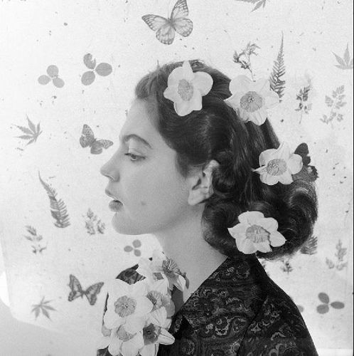 Princess Ira Von Furstenberg, 1955, by Cecil Beaton
