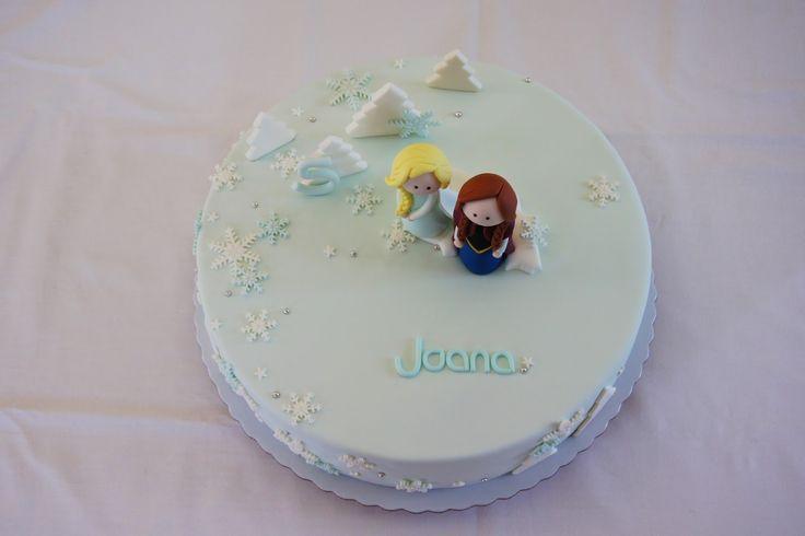 Menina Framboesa: frozen cake
