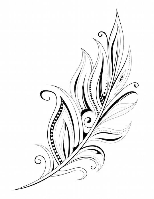 Feather Tattoo                                                       …