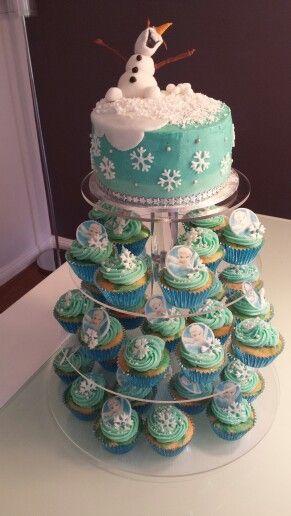 Frozen Birthday cake..