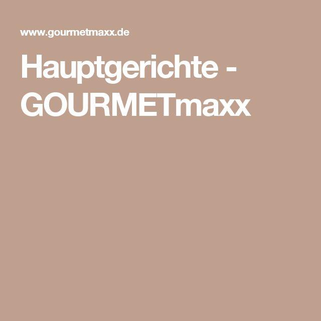 Hauptgerichte - GOURMETmaxx