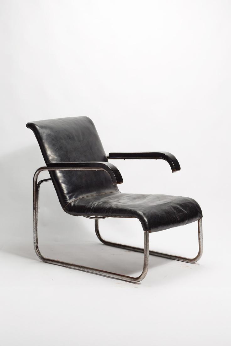 Marcel Breuer, Armlehnstuhl B35 (1929) was a Hungarian-born modernist, architect…