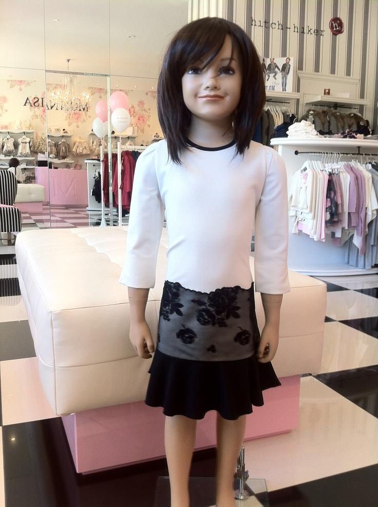 Monnalisa Chic dress fall/winter collection