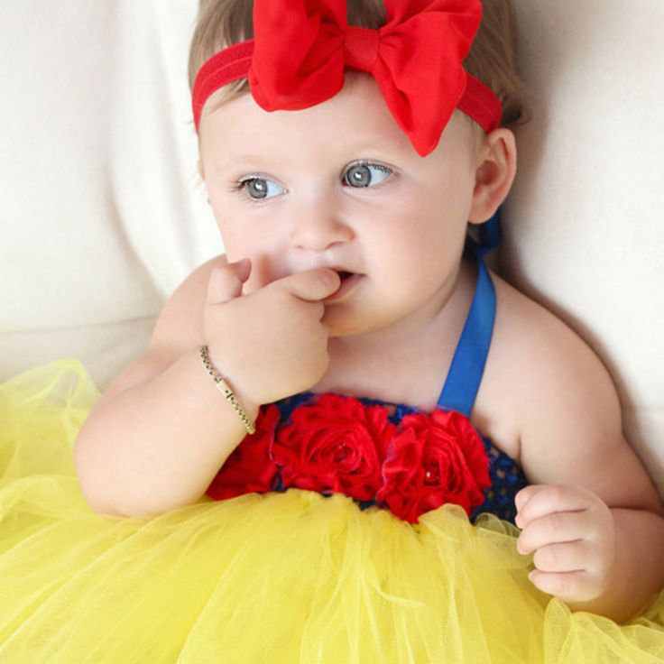 0-4Y Baby Tutu Dress Toddler Infant Princess Cosplay Snow White Costume 1 Year Birthday Dress Wedding Party Baby Dress Vestidos  #Affiliate