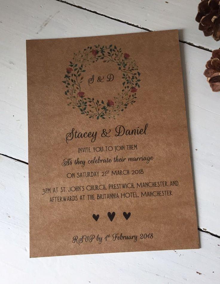 Best Personalised Wedding Invitations Ideas On Pinterest