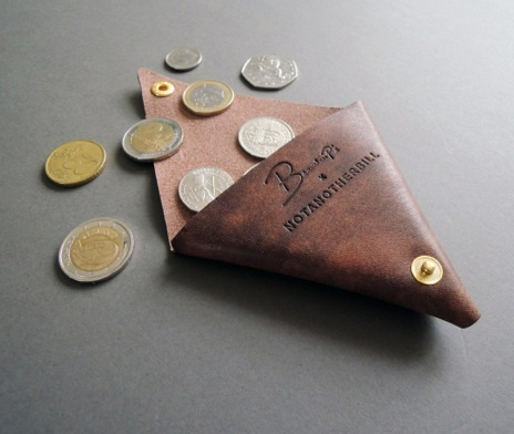 Beauchamps of London X NotAnotherBill coin wallet. Available in several types and colours leather. £20