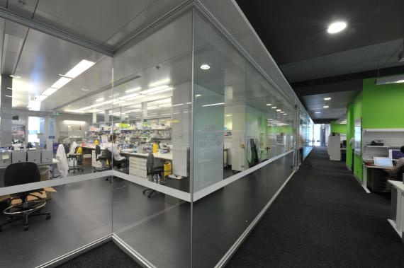 medical laboratory spaces and space relationship