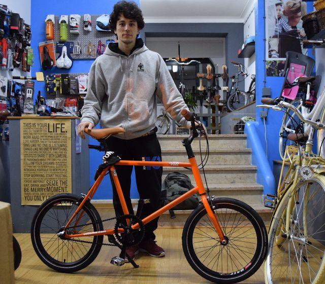 BK Lisboa : Jorge e a última Véli laranja