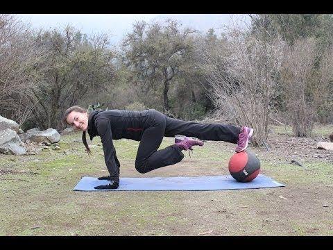 10 min medicine ball workout - Entrenamiento con pelota medicinal