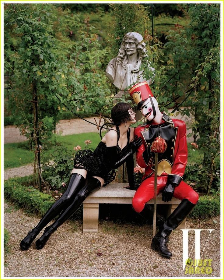 Марион Котийяр для W Magazine December 2012
