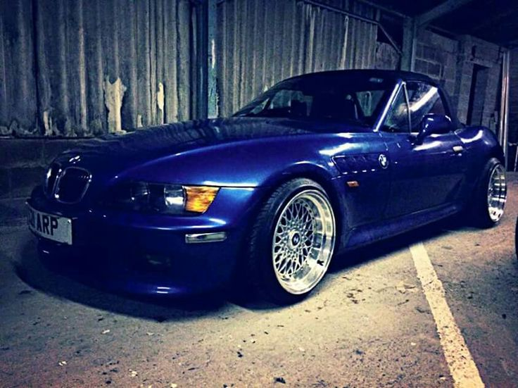 Bmw Z3 Blue Deep Dish Bmw Roadsters Amp Coupes Pinterest