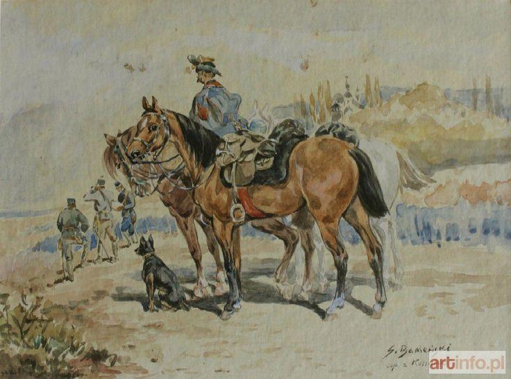 Stanisław BAGIEŃSKI ● Patrol ● Aukcja ● Artinfo.pl