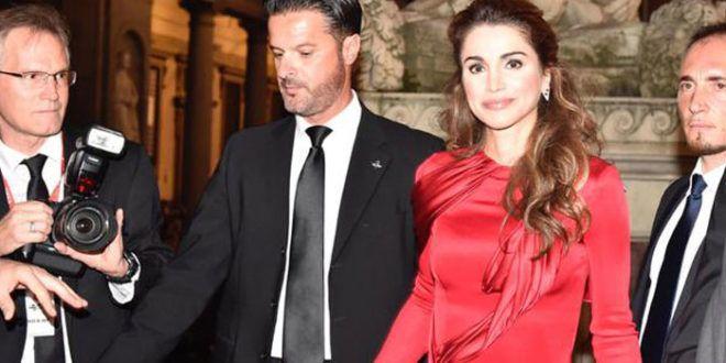 Celebrity Fight Night: la Regina Rania di Giordania ricorda le vittime del terremoto