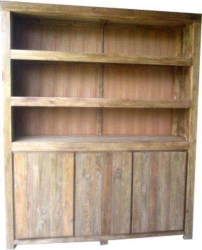 Marktplaats Boekenkast Teak.Oud Teak Boekenkast Book Closet 180 Cm Dordrecht 3 Deuren