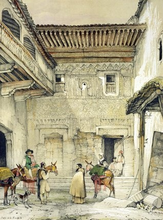 John Frederick Lewis (1805 - 1876, English) Sketches and Drawings of the Alhambra:Court of the Mosque