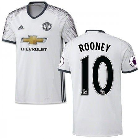 Manchester United 16-17 Wayne #Rooney 10 3 trøje Kort ærmer,208,58KR,shirtshopservice@gmail.com