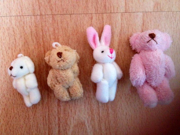 Tiny teddies £1.50