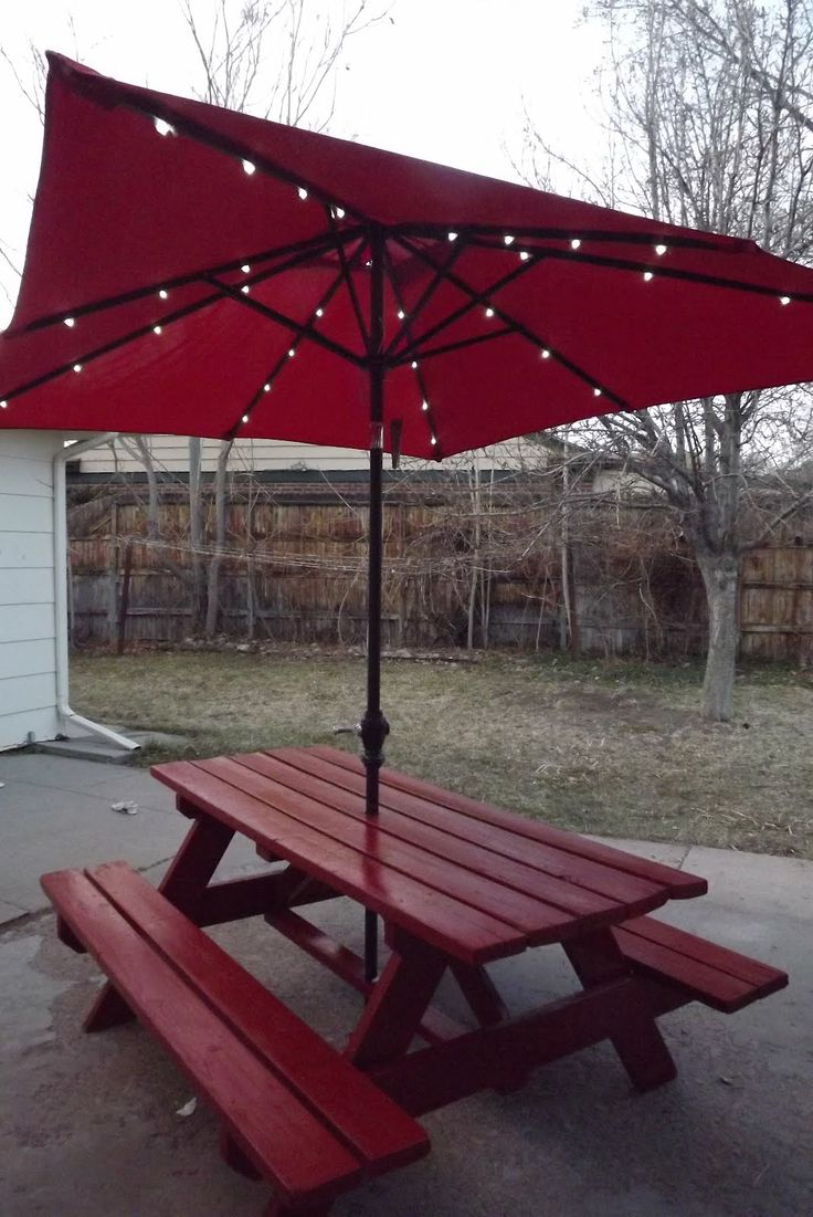 Little Tikes Table And Chairs Set Toys R Us Cushions For Kitchen Best 25+ Picnic With Umbrella Ideas On Pinterest | Pinic Table, Garden Bar Handyman ...