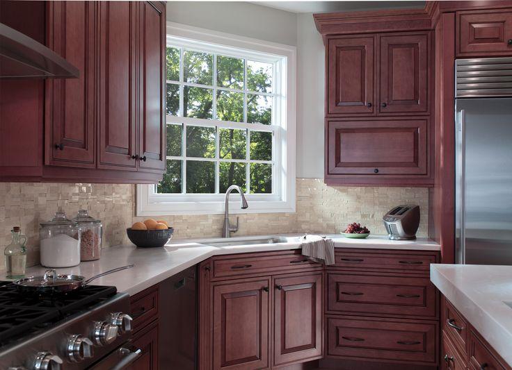 Fresh, Trendy Kitchen   Pella 250 Series Single Hung Windows   Pella Photo  Gallery