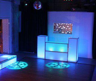 DJ booth.