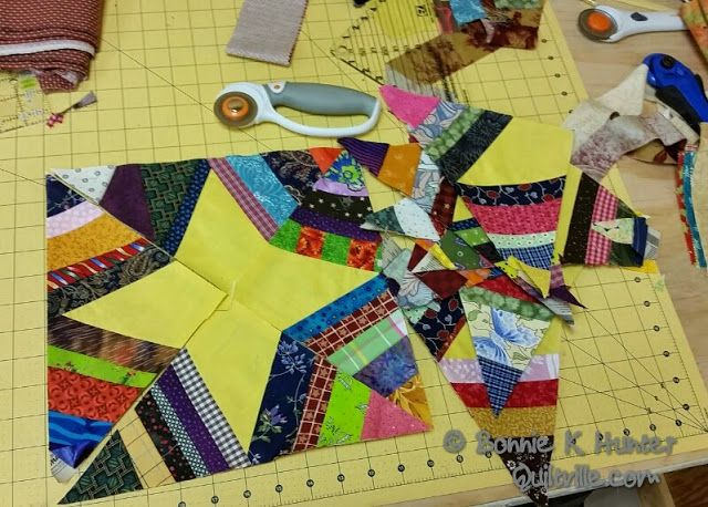 Quiltville's Quips & Snips!!: Galaxy-Gram! Trimming time!