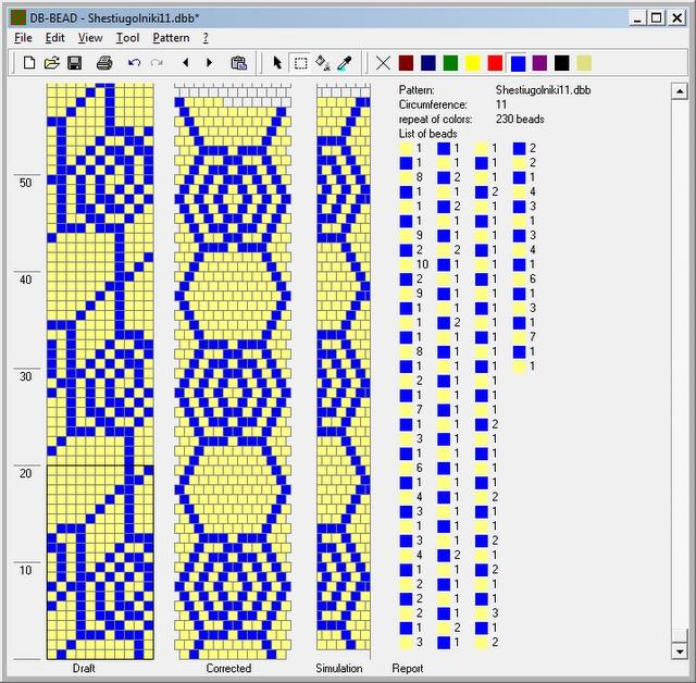 BeadedCrochet_GeometricSchemes - Mariam Nahapetyan 11 around