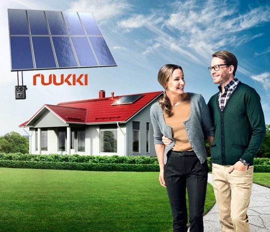 Ruukki Solar thermal package
