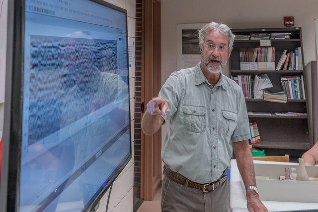 Using Ground-Penetrating Radar, Professor explores the Hidden 1600s of New England  | University of Denver Magazine