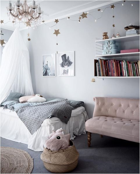 Beautiful children's room for your little princess #kidsroom #girlbedroom #kidsbedroomdecor Find more inspirations at www.circu.net