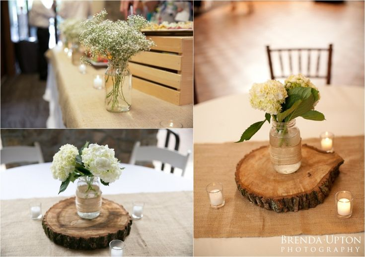 Best 25 Burlap Centerpieces Ideas On Pinterest Table