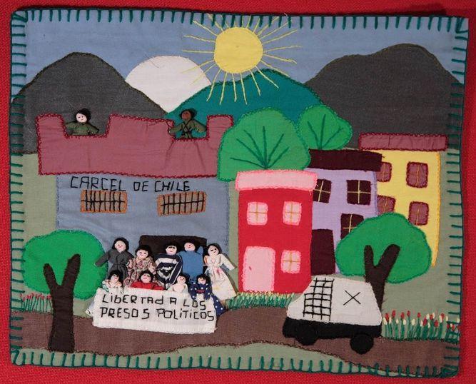 Apillera chilena do início da década de 80. (Acervo Kinderhilfe, Chile/Bonn, Alemanha)