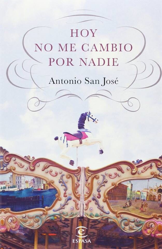 My work, on a book cover, Spain.