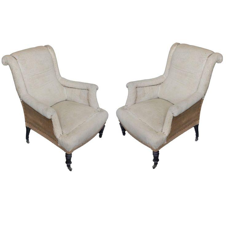 Pair Of French 19th Century Napoleon III Scrolled Armchairs. Napoleon IiiFurniture  StylesFurniture ...