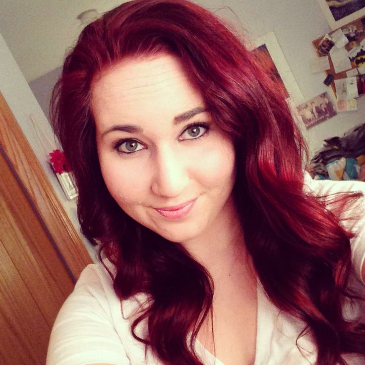Red Hair Maroon Hair Hair My Style Pinterest