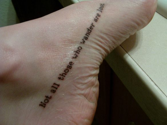 foot quote