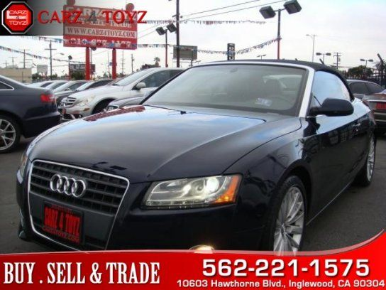 Convertible, 2010 Audi A5 2.0T Premium Plus Cabriolet with 2 Door in Inglewood, CA (90304)