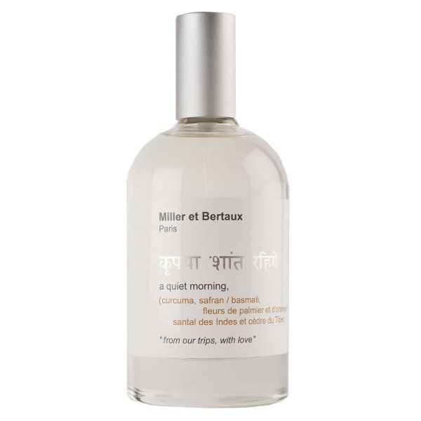 Ecuación Natural   Perfume A Quiet Morning de Miller et Bertaux en Ecuación Natural s.c.