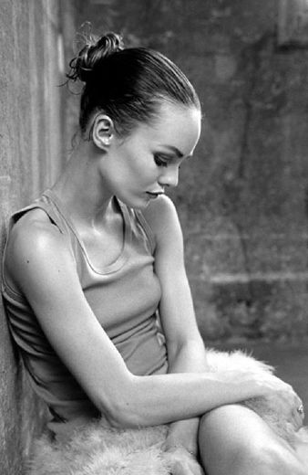 Vanessa Paradis by Kate Barry