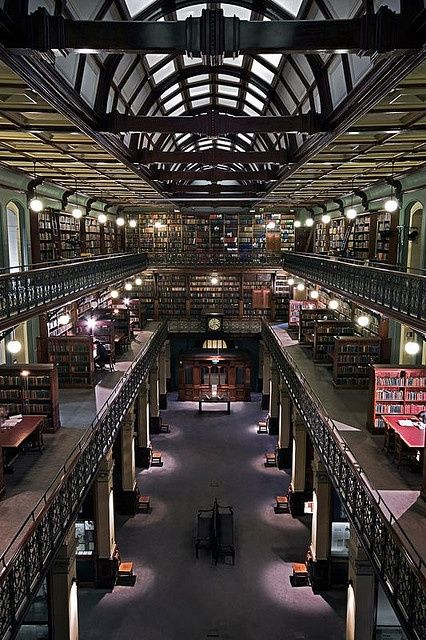 """""""Mortlock Library - Adelaide, South Australia."""" WHERE. IS. THIS. HOW HAVE I NOT HEARD OF THIS LIBRARY? It looks like its from Hogwarts!"""