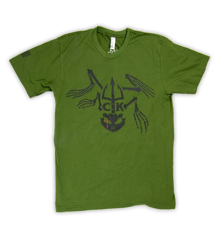 Chris Kyle Army Green Frog Logo T Shirt Things I Need