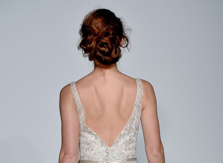 The key to making an updo feel fresh? Don't make it too perfect.