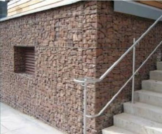 Architectural gabions for rainscreen cladding - Maccaferri - on ESI.info