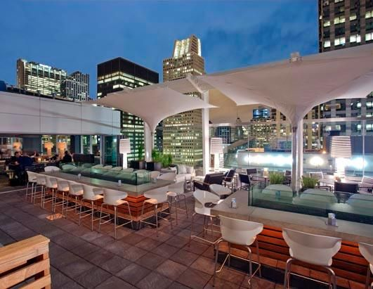 The Roof - Chicago: Rooftops Bar, Rooftops Patio, Roof Decks, Buckets Lists, Favorite Places, Bridal Shower, Chicago, Bar Stools, Hotels
