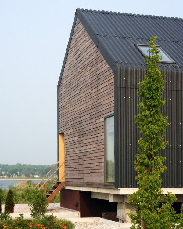 Modern Architecture Roof modern barn design in netherlandsjagerjanssen architects
